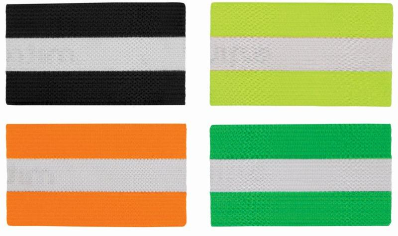 CAPTAIN ARM BAND  LUMI STRIPED (ABL-STRIPED)